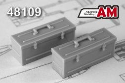 Advance Modeling Modern Soviet/Russian Tool Boxes 1:48