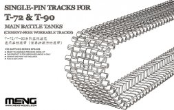 Meng T-72 & T-90 workable tracks (early) 1:35