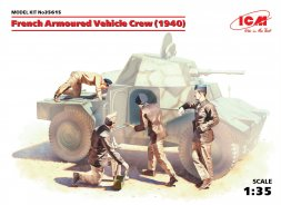 ICM French Armoured Vehicle Crew (1940) 1:35