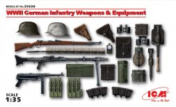 ICM German Infantry Weapons and Equipment WW.II 1:35