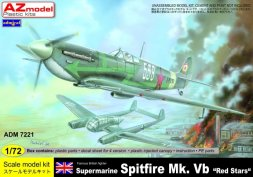 Admiral Spitfire Mk.Vb - Red Star 1:72