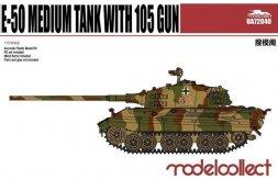 E-50 Medium Tank with 105 gun 1:72