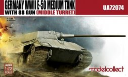 E-50 Medium Tank with 88 gun (large turret) 1:72