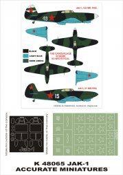 Montex Yak-1 super Mask for ACC. M. 1:48