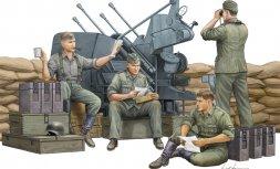 Trumpeter German Anti-Aircraft Gun Crew 1:35