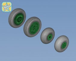 North Star Ka-27/ Ka-32 wheels 1:48