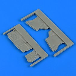 Quickboost Su-25 Frogfoot undercarriage covers 1:48