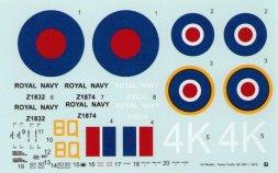 Fairey Firefly Mk.I, FR.I, NF.2 - Royal Navy 1:48