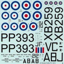 Fairey Firefly FR.I - RAF, RCAF 1:48