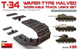 T-34 workable track links (Wafer Typ) 1:35