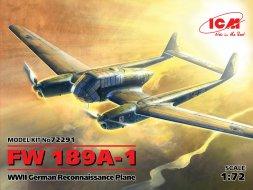 Focke-Wulf Fw 189A-1 UHU 1:72