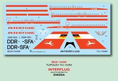 Tupolev Tu-154M - Interflug 1:144