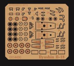 Ilyushin Il-18 P.E. für AZmodel/ E.E. 1:144