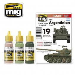 AMMO of MIG - Argentinian AFV Colors set