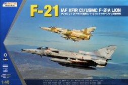 IAF KFIR C1/ USMC F-21A 1:48