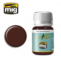 AMMO of MIG - Panel Line Wash - Dark Red Brown 35ml