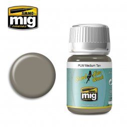 AMMO of MIG - Panel Line Wash - Medium Tan 35ml