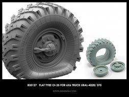Miniarm URAL-375/4320 OI-25 (late) wheel Flat 1:35