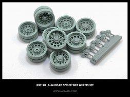 Miniarm T-54 Road wheels set - Spider web 1:35