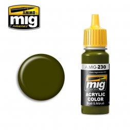 AMMO of MIG - 230 RLM 82 Camo. Green - 17ml