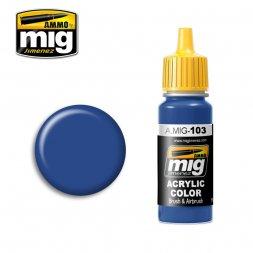 103 - Medium Blue - 17ml