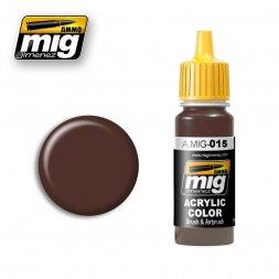 AMMO of MIG - 015 RAL 8017 Schokobraun - 17ml
