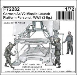 CMK German A4/ V2 missile launch platform personne 1:72