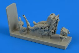 Soviet Pilot with ejection seat for Su-22/Su-25 1:48
