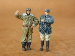 CMK French Pilot + Officer WW I 1:48