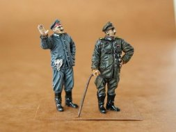 CMK German Pilot + Mechanic WW I 1:48