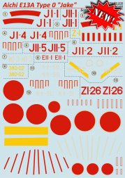 Aichi E13A Type 0 Jake 1:72