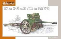 Special Armour 3,7cm PAK 37(t)/ 3,7 cm KPUV vz.37 1:35