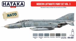 German Modern Luftwaffe paint set Vol.3