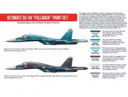 Hataka Hobby Russian Su-34 Fullback paint set