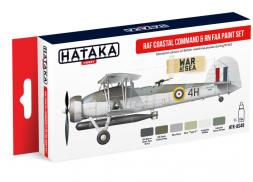 Hataka Hobby RAF Coastal Command & RN FAA paint set