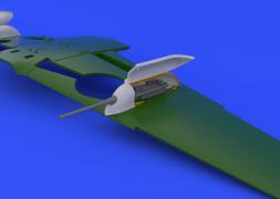 Eduard Brassin Bf 109G cannon pods for Revell 1:32