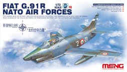 Meng Fiat G.91R - NATO Air Force 1:72