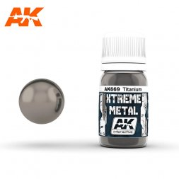 AK Interactive - Xtreme Metal Titanium 30ml