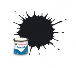 Humbrol 021 - Schwarz glänzend - 14ml Enamel