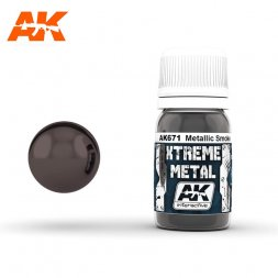 AK Interactive - Xtreme Metal Metallic Smoke 30ml