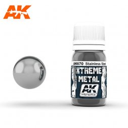 AK Interactive - Xtreme Metal Stainless Steel 30ml