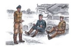 CMK German Bomber Pilots WW.2 1:72