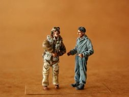 CMK Italien pilot + mechanic WW.II 1:48