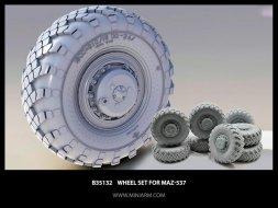 MaZ-537 Wheels set Vi-202 1:35
