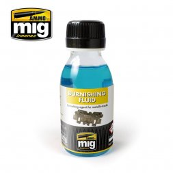 AMMO of MiG - Metallic Tracks Burnishing Fluid 100ml