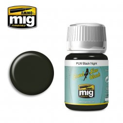 AMMO of MiG - Panel line wash black night