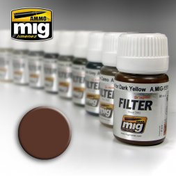 AMMO of MiG - Filer Brown for White