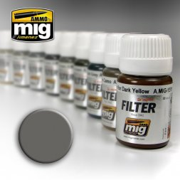 AMMO of MiG - Filter Grey for White