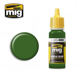 AMMO of MiG - 060 Pale Green - 17ml