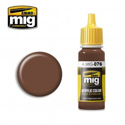 AMMO of MiG - 076 Brown Sloi - 17ml